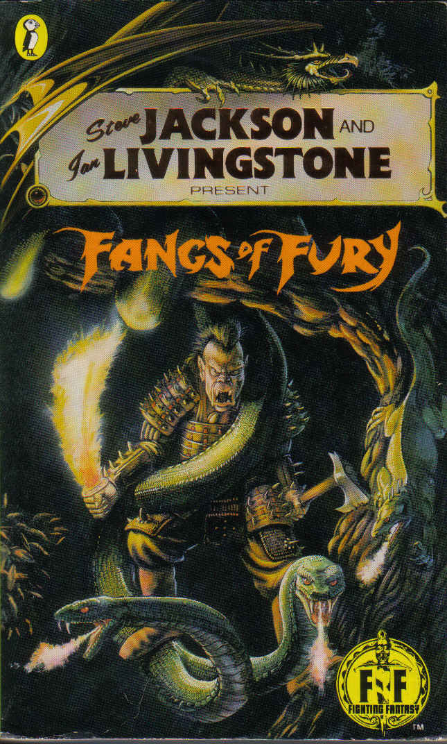 Fantasy Book Cover Inspiration : Fighting fantasy book covers