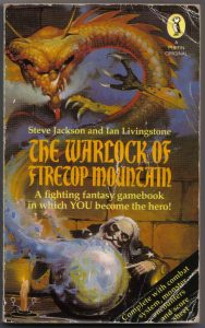 Book Cover: The Warlock of Firetop Mountain